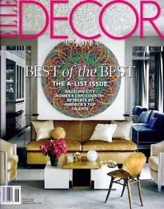 Ryan McGinness Elle Decor